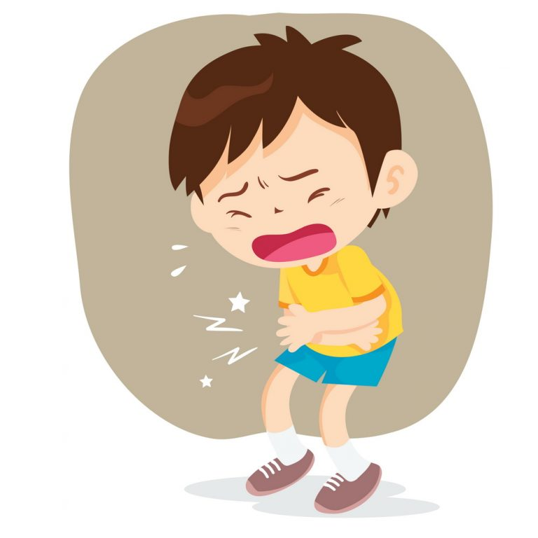 Картинки болит живот у ребенка